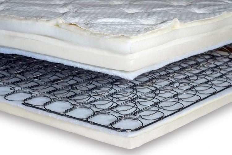 mattress with sprigs for best support