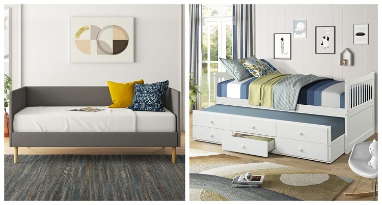 Daybed vs Trundle Bed