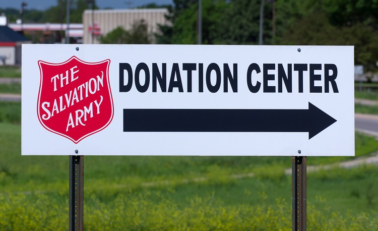 Salvation Army Donation Center